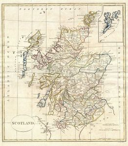 18th-century-map-of-Scotland